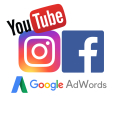 Online marketing - Google Adwords, Facebook, Instagram, Youtube