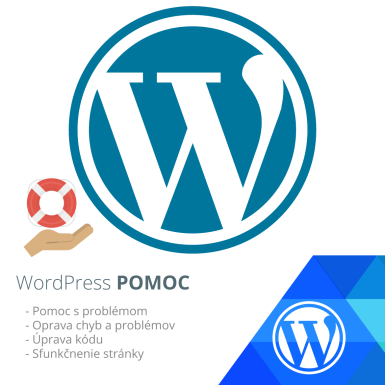 Pomoc s WordPress