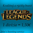 Ja spravím boost na League of Legends účet