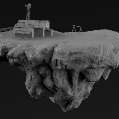 Floating Island - VFX